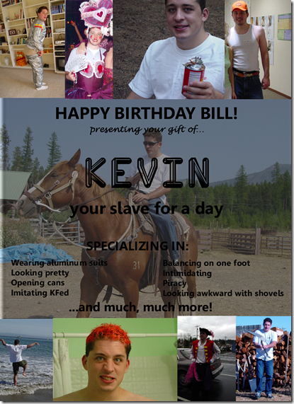 bill's gift 09